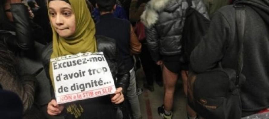 Brisel: Bez pantalona u metrou – Kada moral postane smetnja