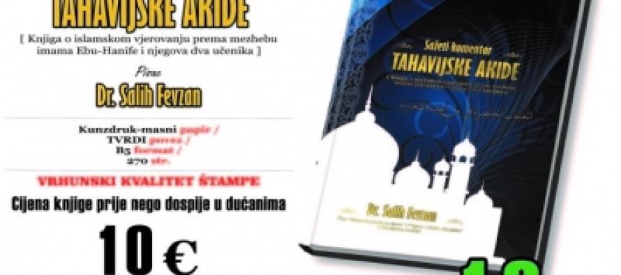 """""""Sažeti komentar TAHAVIJSKE AKIDE"""" dostupan i u Luksemburgu"""