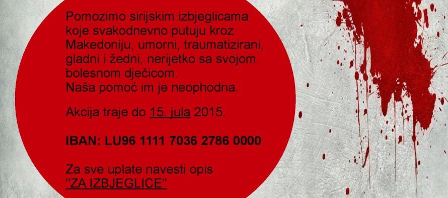 Luksemburg: Poziv na akciju – Pomozimo izbjeglicama Sirije
