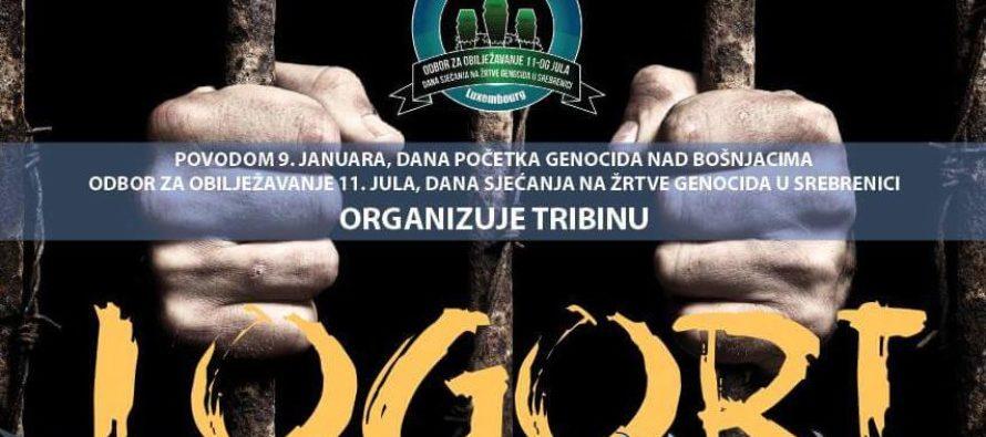 Luksemburg: Tribina povodom 9. januara, Dana početka genocida nad Bošnjacima