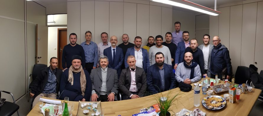 Prijem u sjedištu Šure: Svečano potpisivanje zvaničnih dokumenata Islamske zajednice (FOTO)