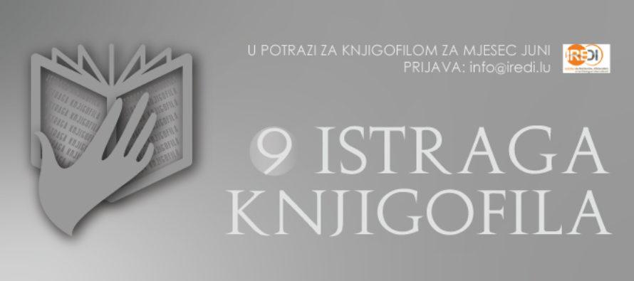 Luksemburg/Bosna: Knjigofil Instituta IREDI za mjesec maj – Orhan Omerhodžić