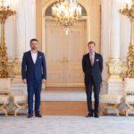 Susret velikog vojvode Henrija i predsjednika Šure Faruka Ličine