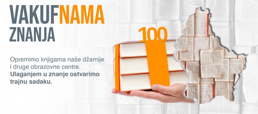 """""""VAKUF'NAMA ZNANJA"""" u Sandžaku: Dobitnik 100-knjižne novembarske biblioteke – Medžlis Brodarevo (VIDEO)"""
