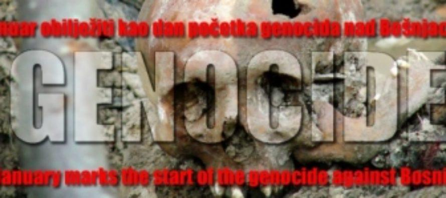 Dan početka genocida nad Bošnjacima: Profesor Čekić 4. januara boravi u Luksemburgu