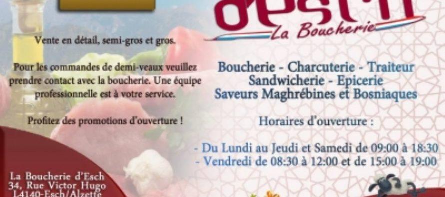 """Nouveau: """"La Boucherie d'Esch halal"""" a ouvert ses portes"""