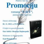 "Promocija romana ""X ili Y"""