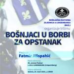 "Fatmir Alispahić u Luksemburgu: BKZL organizuje tribinu ""Bošnjaci u borbi za opstanak"""