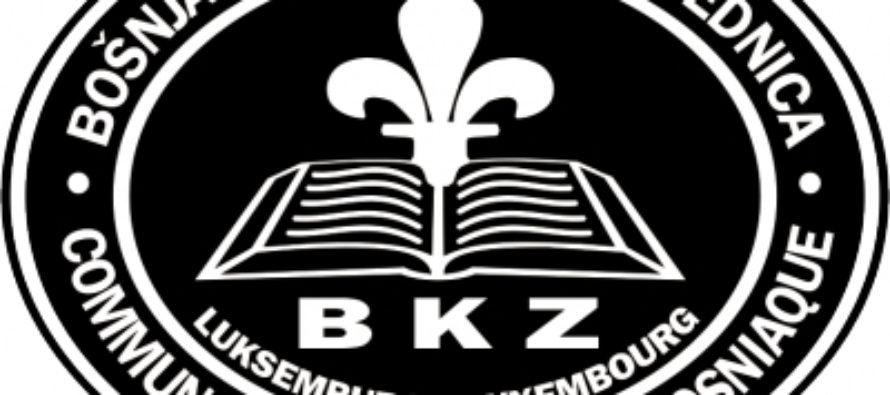 Čestitka BKZ Luksemburga novom rukovodstvu BKZ-a