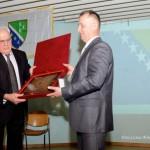 """Luksemburg: Priznanje """"Mulla Osman Hrastoder"""" dodijeljeno predsjedniku Šure (video)"""