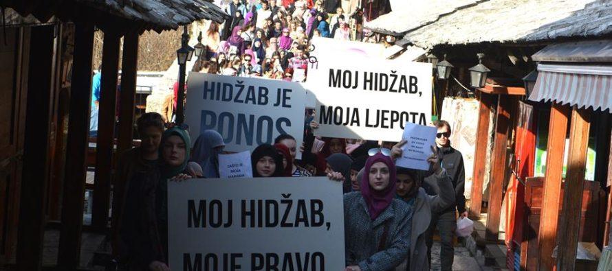 Odbor za obilježavanje 11. jula u Luksemburgu izdao saopštenje povodom odluke VSTV-a o zabrani hidžaba