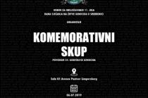 Luksemburg: Komemoracija povodom genocida u Srebrenici zakazana za subotu 6. juli