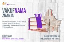 """""""VAKUF'NAMA ZNANJA"""" na Kosovu: Dobitnik 100-knjižne februarske biblioteke – O.Š. """"Džemail Kada"""" iz Peći"""