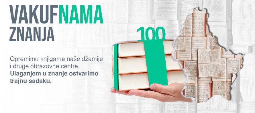 """""""VAKUF'NAMA ZNANJA"""" u Sandžaku: Dobitnik velike aprilske biblioteke – BKC """"Sandžak"""" u Petnjici"""