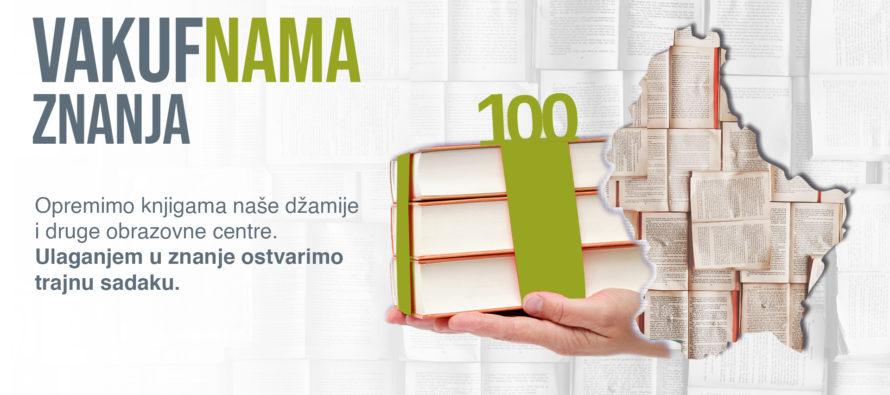 """""""VAKUF'NAMA ZNANJA"""" u Makedoniji: Dobitnik velike majske biblioteke – UG Glas Orizara"""